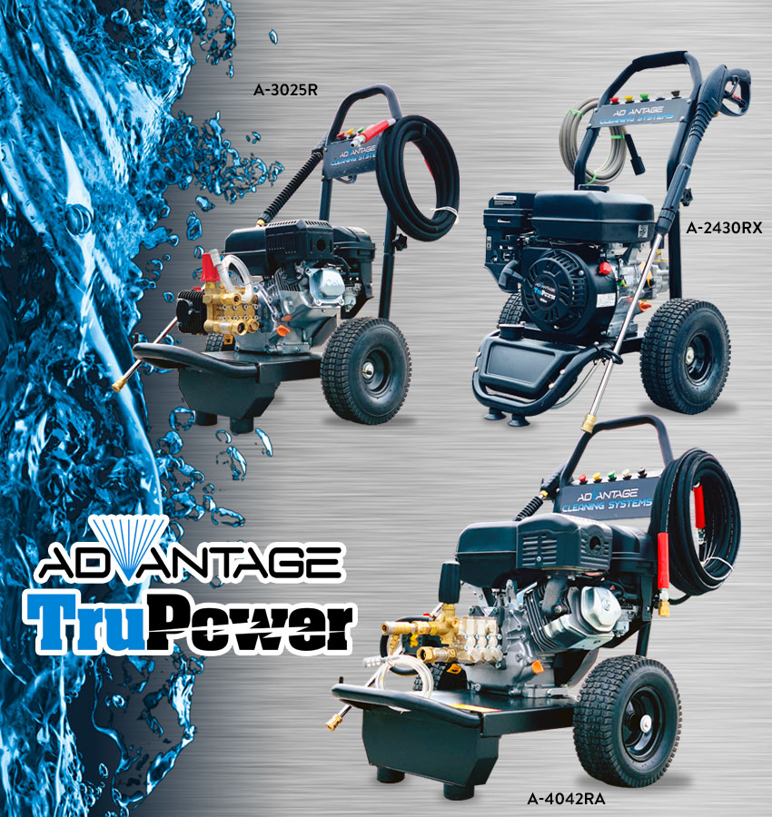 Advantage TruPower Series Pressure Washers