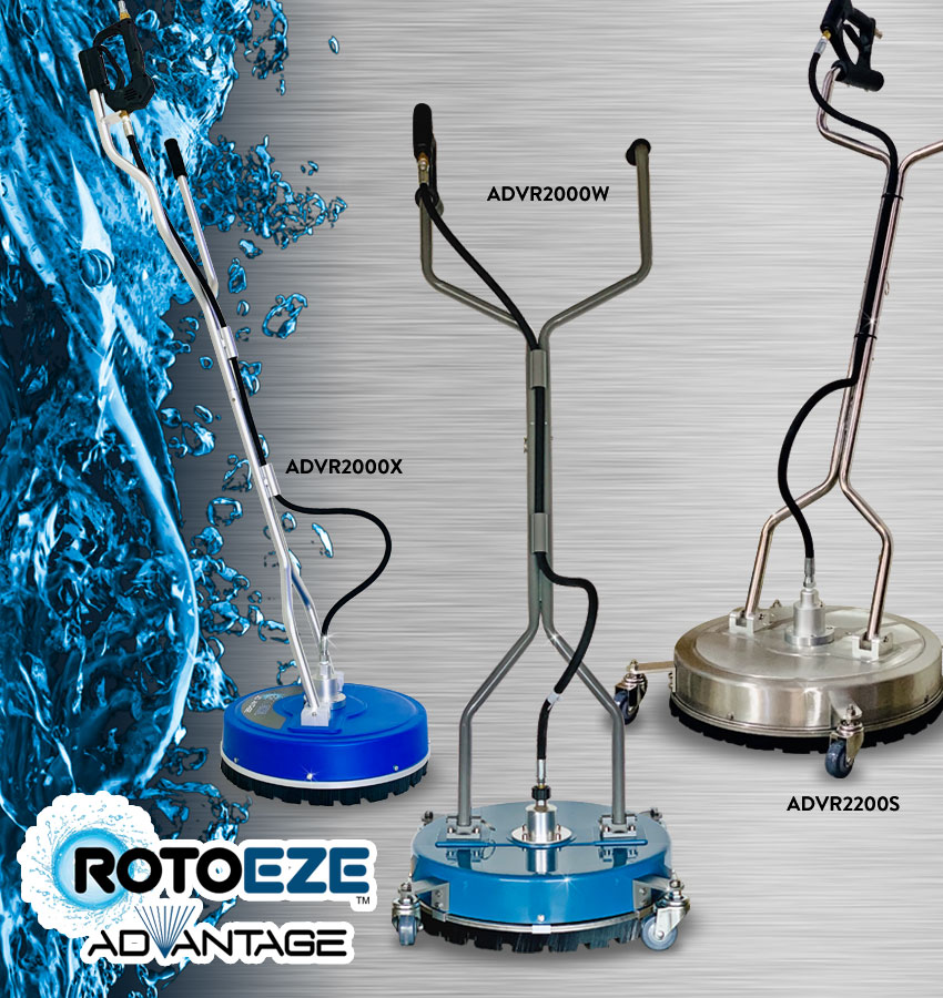 Roto-eze Pro Rotary Surface Cleaners